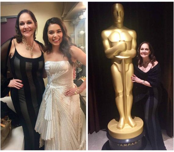 Peisha and Auli'i Oscars